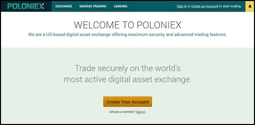 ポロニエックス(Poloniex)